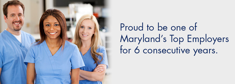 Senior Care Health Care Careers in Maryland - Benefits