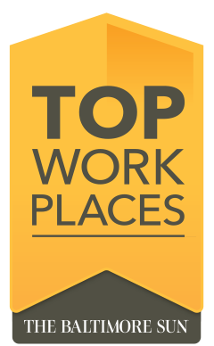 Voted Top Work Places by The Baltimore Sun
